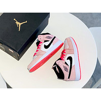 Air Jordan 1 Mid female models personality wild basketball shoes