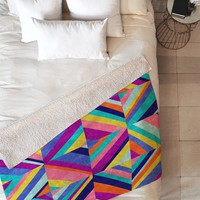 Jacqueline Maldonado Hybrid 1 Fleece Throw Blanket