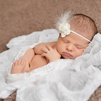 SET White Lace and Cheesecloth Baby Wraps Cheese Cloth