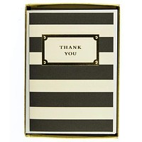Elegant Thank You Boxed Card Set
