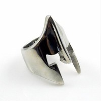 Stainless Steel Spartan Ring