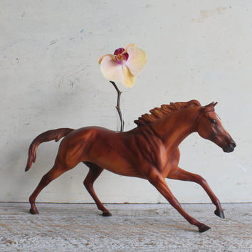 Breyer Horse Vase or Planter, Equestrian Geekery for Your Desk, Traditional Size, Cigar