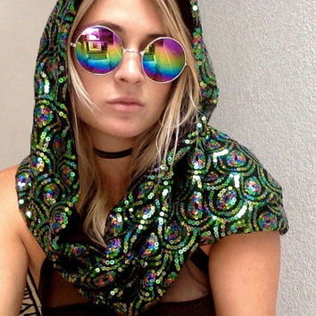 Exotic Realm Rave Hood
