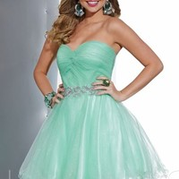 Strapless Sweetheart Dress by Hannah S