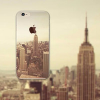 Beautiful New York City iPhone 5S 6 6S Plus creative case + Gift Box-126