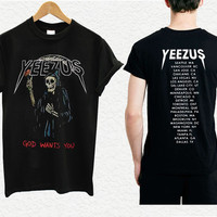 yeezus shirt yeezus indian skeleton yeezus tour shirt kanye west 7