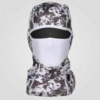 Riding Mask Printed Windproof Waterproof and Warm Head Cover Ski Equipment Bicycle Sports Protection Mask and Hat Integration