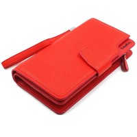 Women's Wallets leather capacity clutch bag gift