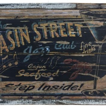New Orleans Jazz Club Vintage Style Sign