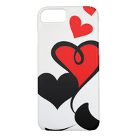Valentine Hearts iPhone 8/7 Case