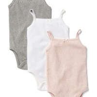 Favorite picot trim bodysuit (3-pack) | Gap