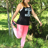 Slimming Ombre Workout Capris