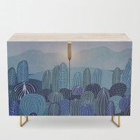 Lines in the mountains 04 Credenza by vivianagonzlez