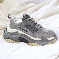 BALENCIAGA Triple s thick-soled men's and women's sneakers shoes #7