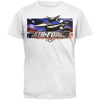 Air Force - Above And Beyond White Adult T-Shirt