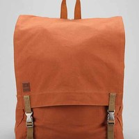 All-Son Military Flap Backpack- Rust One