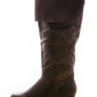 Woodland Knee High Boots