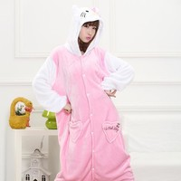 Animal Cartoons Home Couple Sleepwear [6819625095]