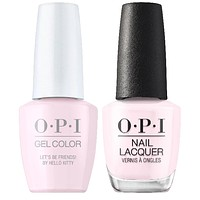 OPI - Gel & Lacquer Combo - Let's Be Friends!
