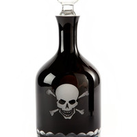 Skull and Crossbones Decanter