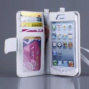 Waldorff's: Navor iPhone Deluxe Book Style Folio Wallet Leather Case $17.00