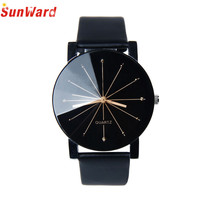 Miracle Moment New Arrival Men Quartz Dial Clock Leather Wrist Watch Round Case fashion Men's sports Watches for dropshipping