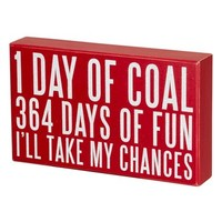 Primitives by Kathy '364 Days of Fun' Box Sign | Nordstrom