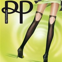 Formal Mock Hold Up Tights by Pretty Polly