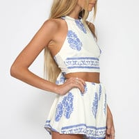 Lili Set - White/Blue