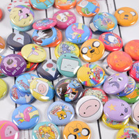 """20 Adventure Time Pin Back Badges, 1"""" Pinbacks, Cartoon Buttons, Party Favors, Adventure Time Zipper Pulls, Magnets"""
