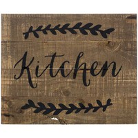 Kitchen Pallet Wood Sign | Hobby Lobby