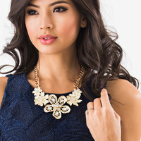 Tammy Floral Statement Necklace