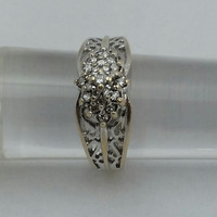 Gold Diamond Antique Vintage Ring Available from SterlinGold Treasures