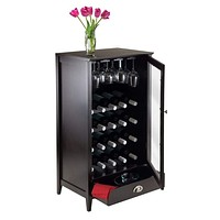 Bordeaux Modular Wine Cabinet 20-Bottle Shelf