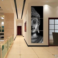 Art Oil Painting 3 modern Buddha Picture No Frame