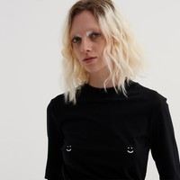 Lazy Oaf Happy Nips T-Shirt - View all - New In - Womens