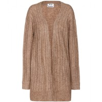 acne studios - raya mohair and wool-blend cardigan