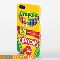 Crayola Crayons iPhone 4/4S, 5/5S, 5C Series Full Wrap Case