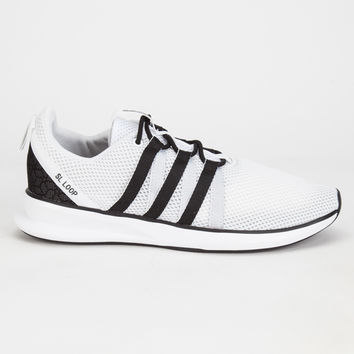 Adidas Originals Sl Loop Racer Mens Shoes Running White Ftw/Core Black/Core Black  In Sizes