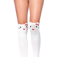 Goodbye Kitty Knee High Socks