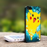 Pokemon Pikachu - For iPhone 5 Black Case Cover