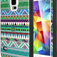 ULAK Hybrid Soft Silicone + Hard Plastic Protective Hard Case for Samsung Galaxy S5 (2014) (You make me home+Blue)