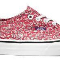 Vans Authentic(Liberty)Leaves-Pink