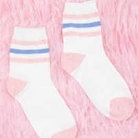 Babe Striped Socks