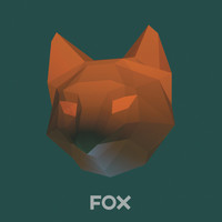 Make Fox Mask, DIY Animal Head,3D Polygon Masks, Instant Pdf download, Paper Mask,Low Poly,Papercraft Face Mask,Template,Printable,Costume