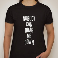 "One Direction ""Nobody Can Drag Me Down"" T-Shirt"
