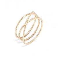 Willow Infinity Ring
