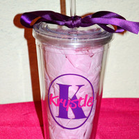 Personalized Tumbler with Name or Monogram