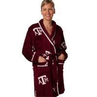 Texas A&M Ladies Fleece Bathrobe