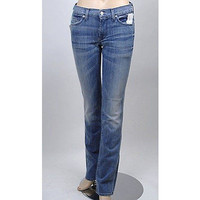 7 For All Mankind Straight Womens Jeans Anp Light Wash Size 30 ~